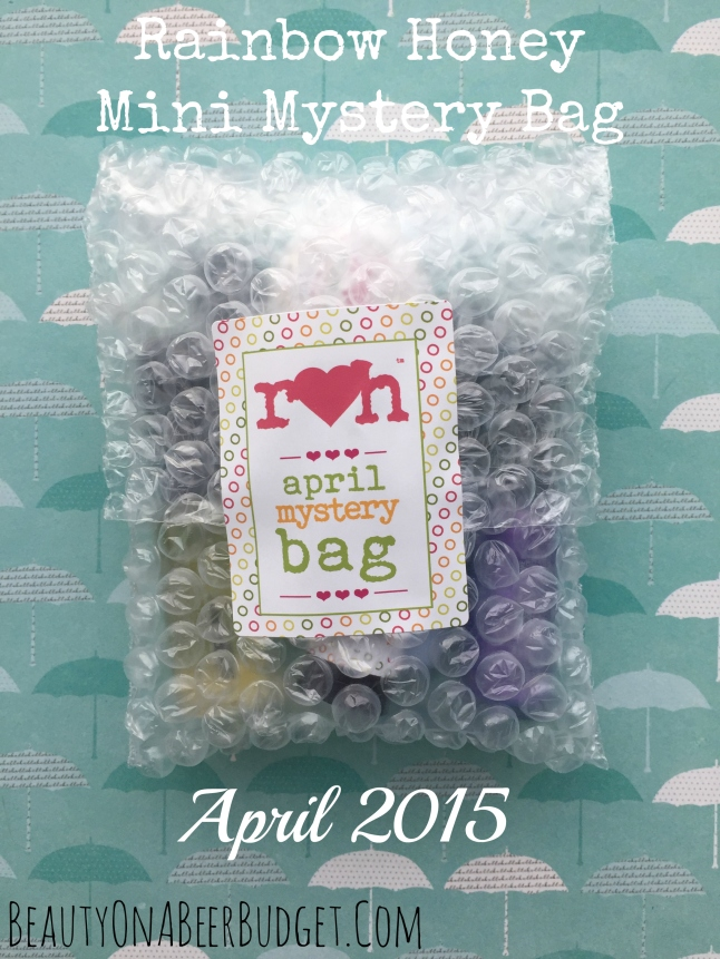 rainbow honey april 2015 mystery bag