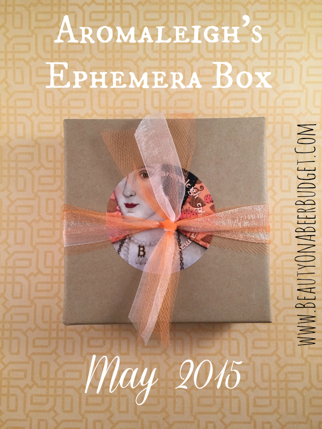 aromaleigh ephemera box mat 2015