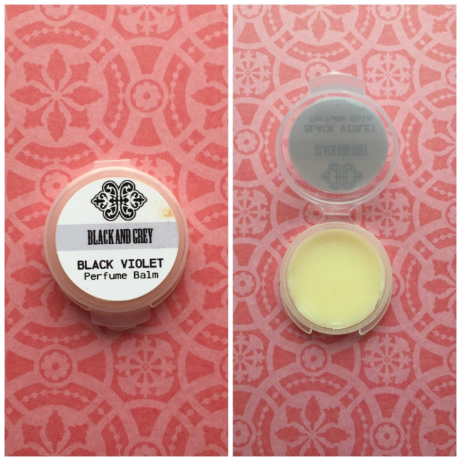 Black and Grey Black Violet Balm