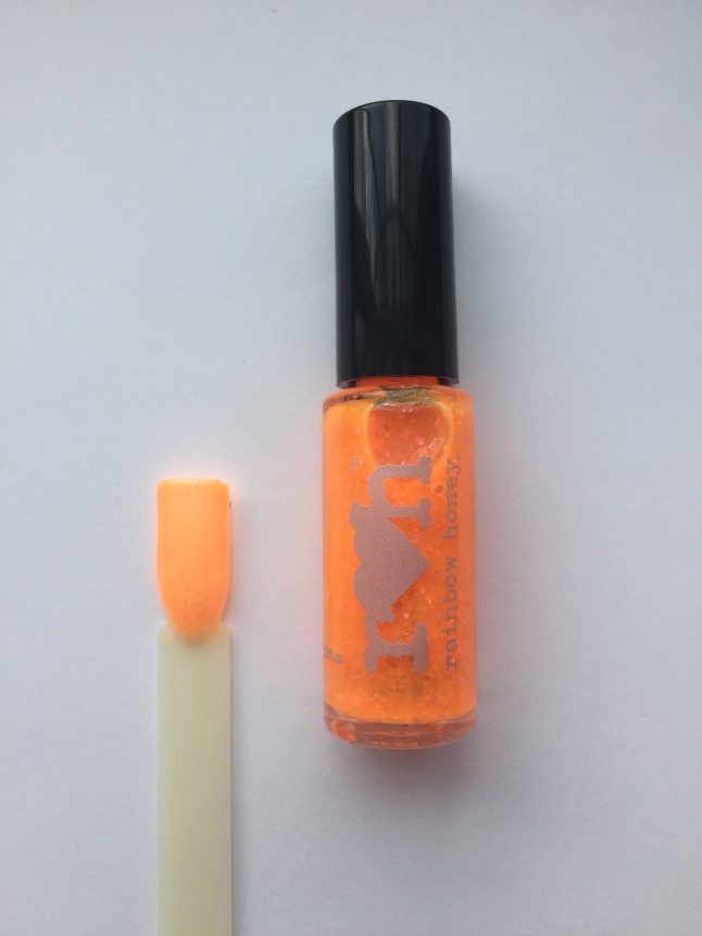 Juicy Orange Pop Nail Polish