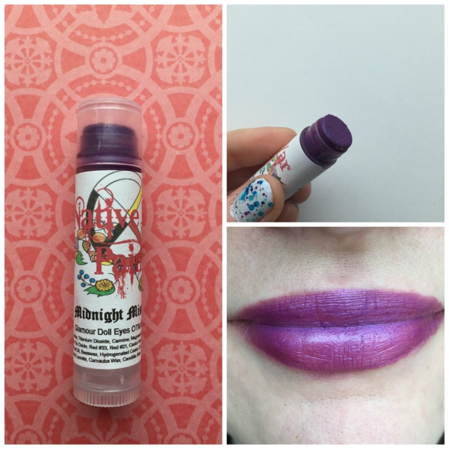 Midnight Mistakes Lippie Native War Paints