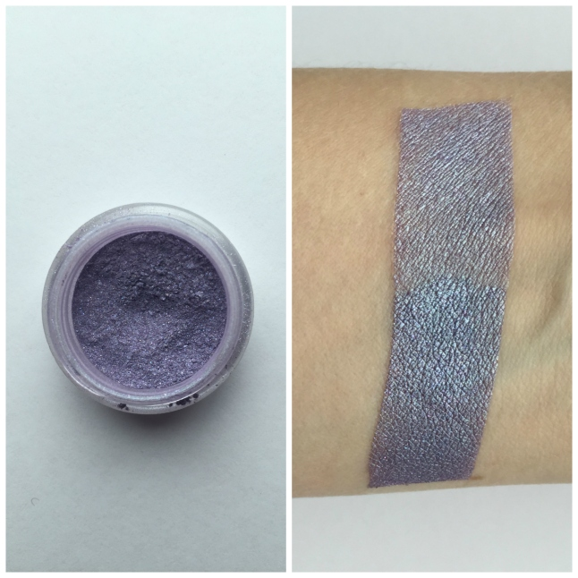 Top half over Too Faced Shadow Insurance, Bottom Half over GDE Glitter Fix