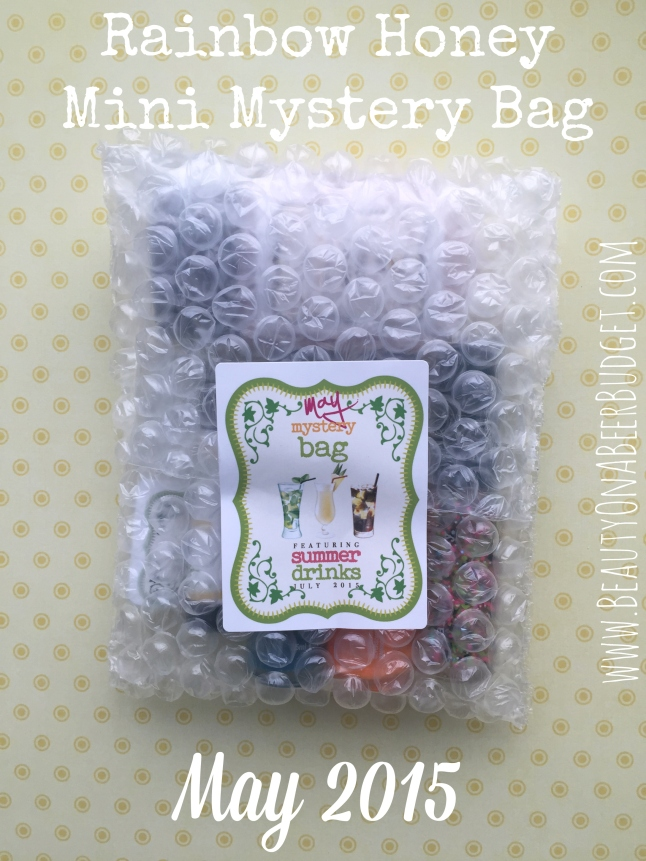 rainbow honey mystery bag may 2015