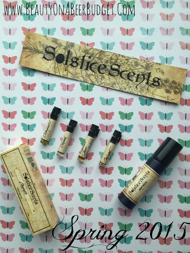Solstice Scents Spring 2015