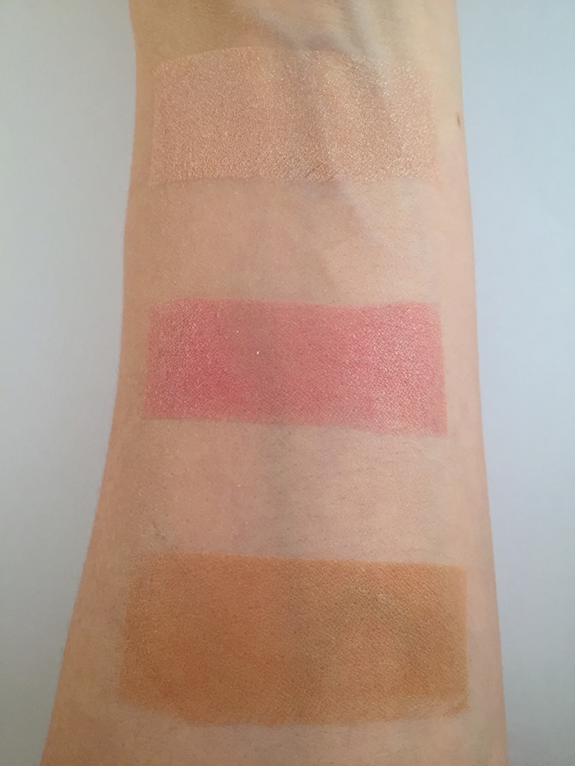 wet n wild blush and glow color icon trio