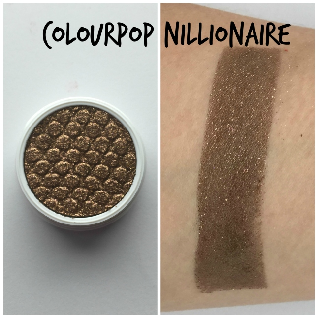 Colourpop Nillionaire Swatch