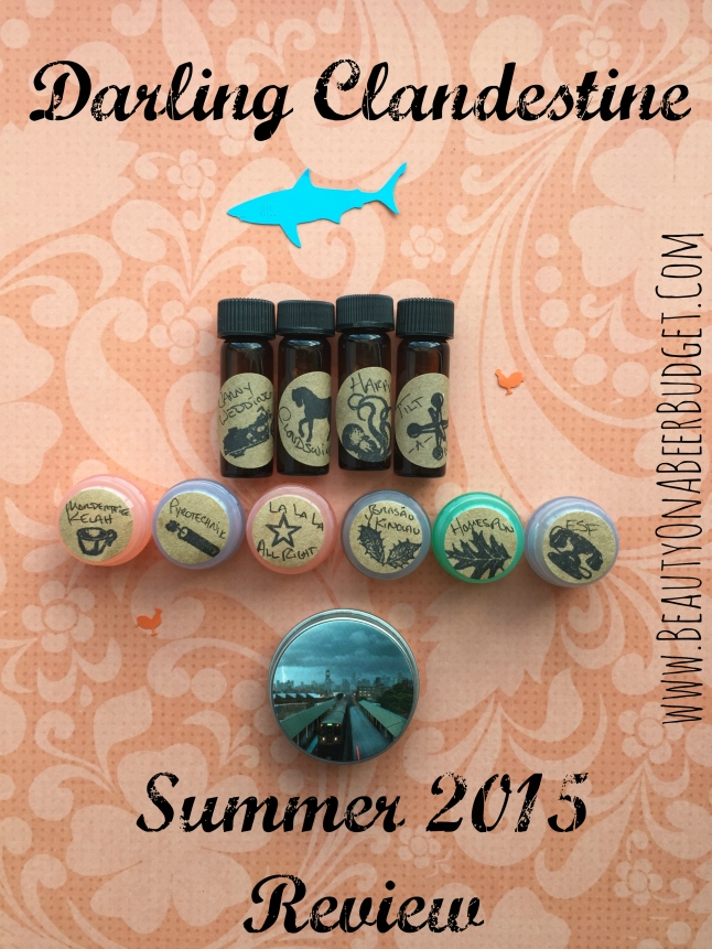 darlingclandestine summer 2015 review