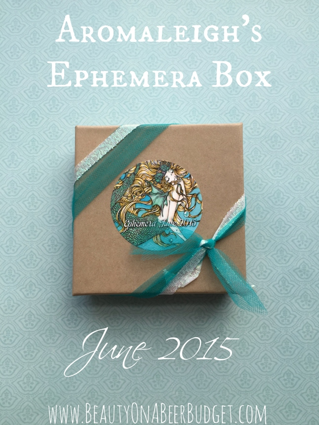 Iaromaleigh june ephemera box