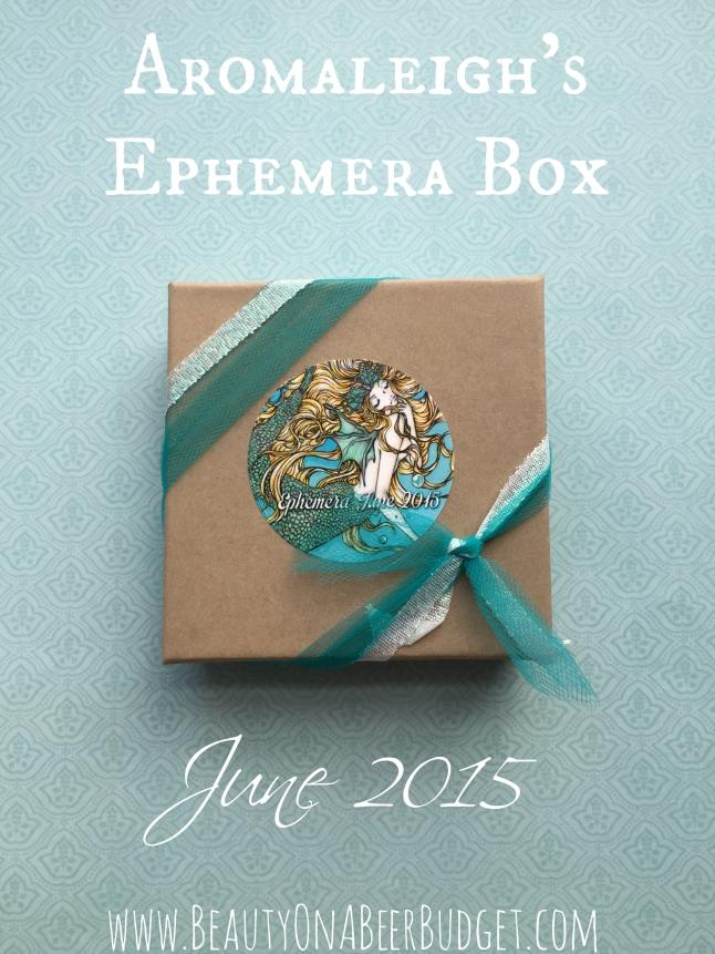 Iaromaleigh june ephemera box