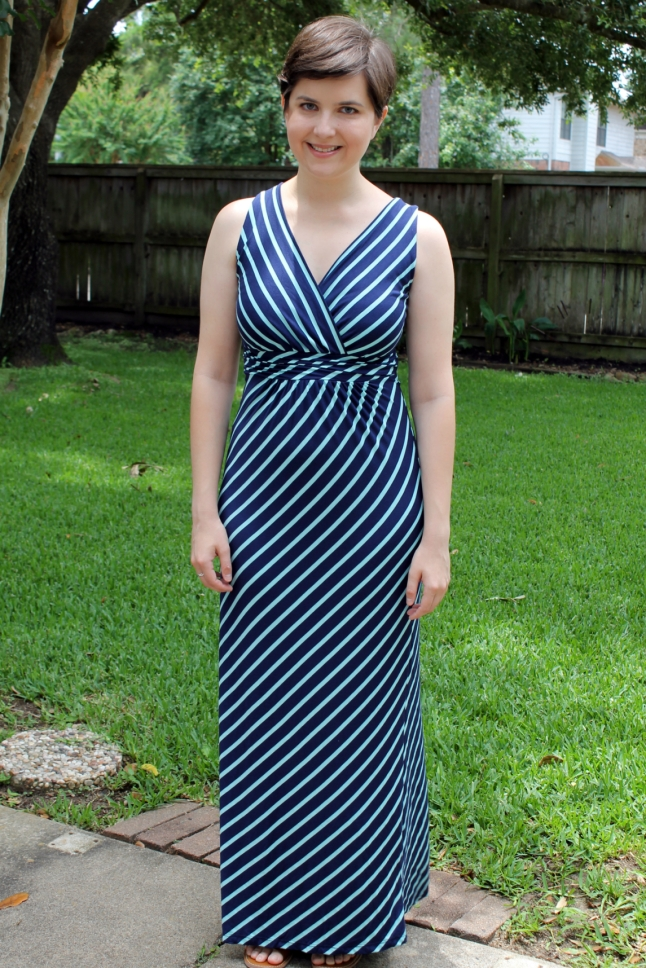 Gilli Zuli Striped Maxi Dress