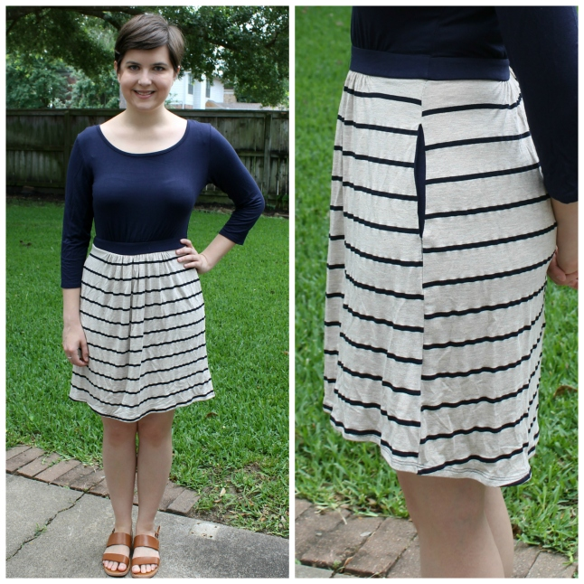 Loveapella Yana 34 Sleeve Striped Dress