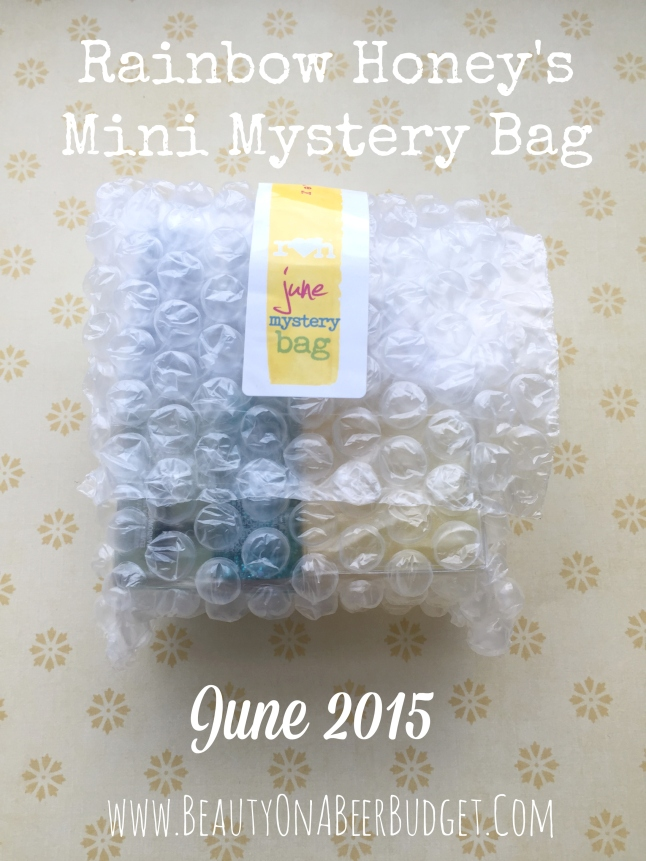 rainbow honey mystery bag june 2015