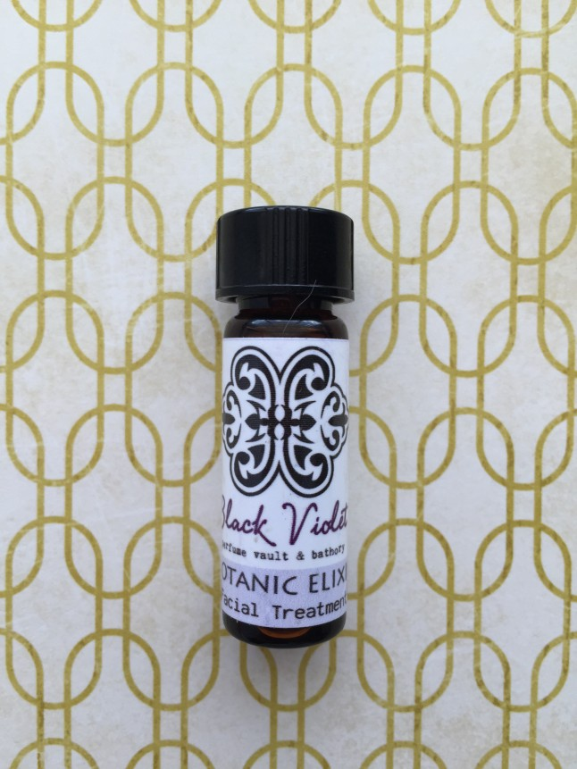 Black Violet Face Elixer