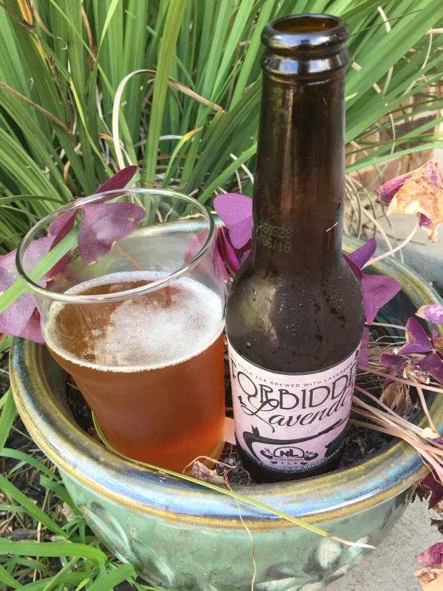 No Label Forbidden Lavender Wit Ale