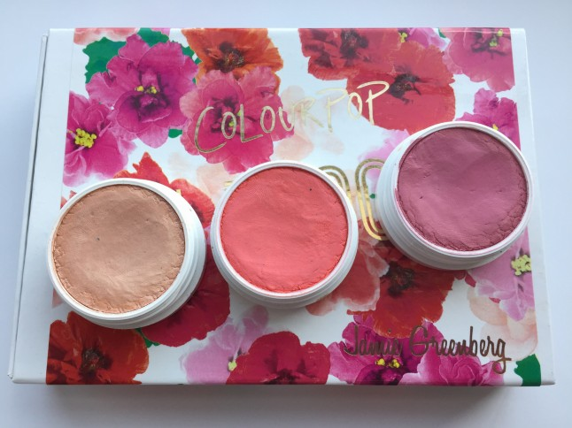 ColourPop In Bloom Blushes