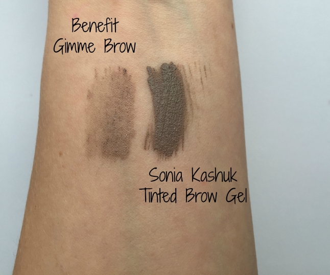 benefit gimme brow sonia kashuk tinted brow gel