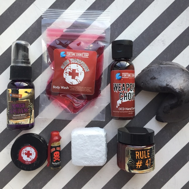 Fortune Cookie Soap Box Zombie Survival Kit